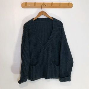 Slouchy Chunky Knit Sweater